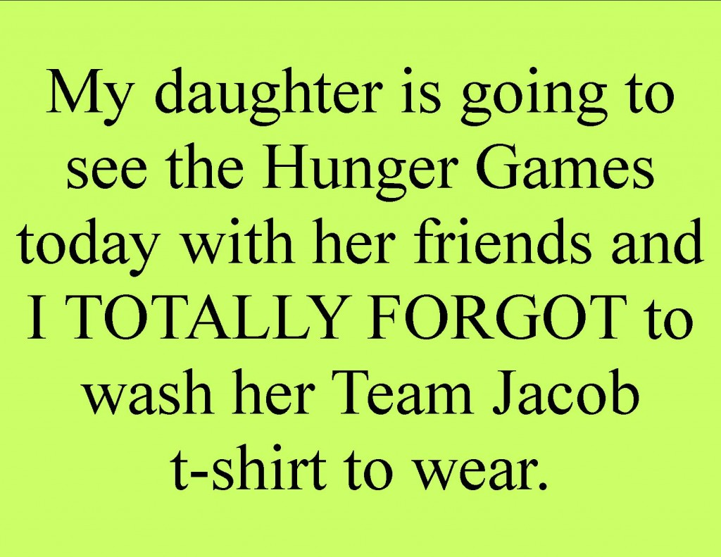 Hunger Games Funny Sayings